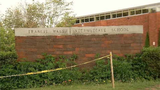 Police said the threat was concerning the Walsh Intermediate School. (WFSB)
