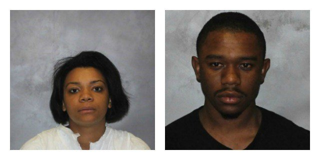 Ysaan Frazier and Danielle Jordan Perkins were both charged with breach of peace. (West Haven Police Department)