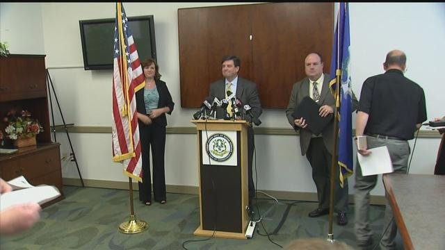DMV Commissioner Michael Bzdyra responds to issues with property tax bills. (WFSB photo)