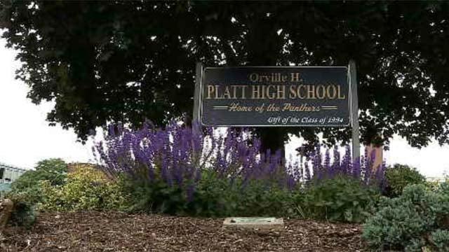 Platt High School in Meriden. (WFSB file photo)
