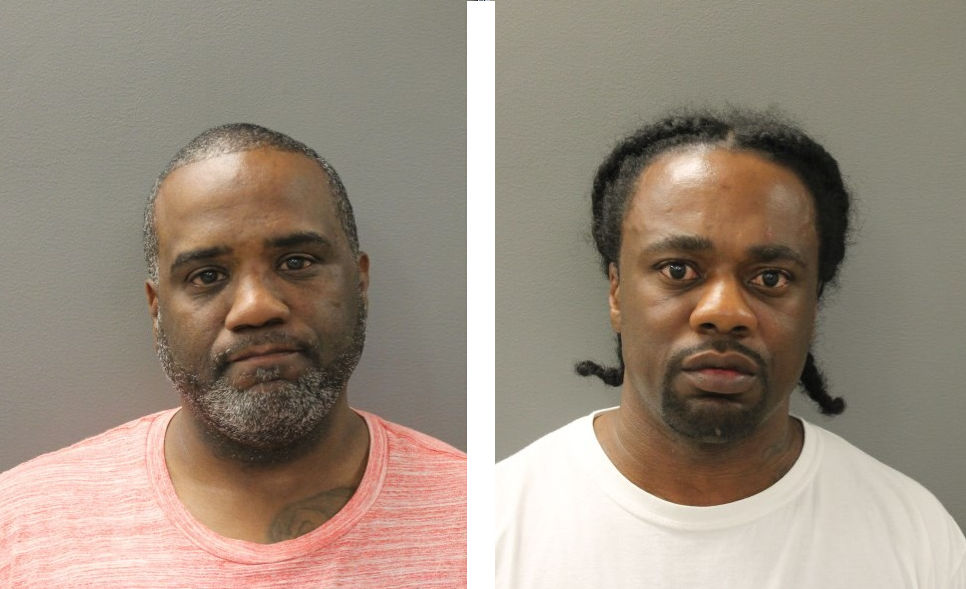 Daryl Belton (left) and Roger Sullivan (right) were arrested by Hamden police Thursday morning. (Hamden PD)