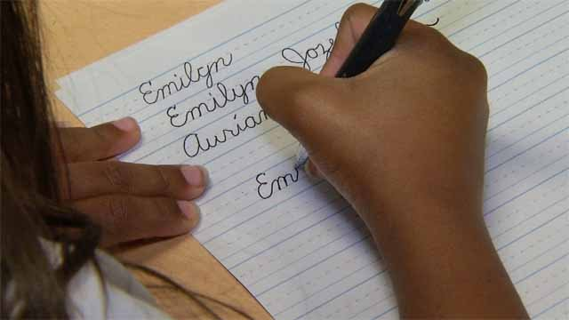 A Willimantic fourth grader has written her way to the top in a handwriting contest, and now ranks among the best in the nation. (WFSB)