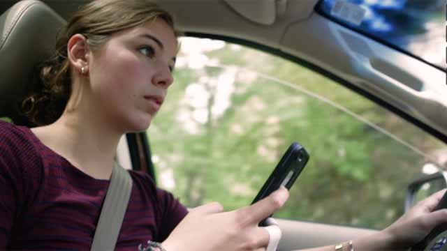 It is known that distracted driving is a huge problem in the country. (Glastonbury High School video)