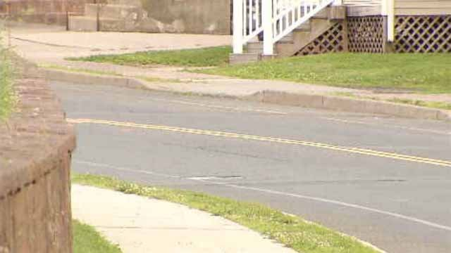 Police said the boy was trying to cross Vine Street when he was hit. (WFSB)