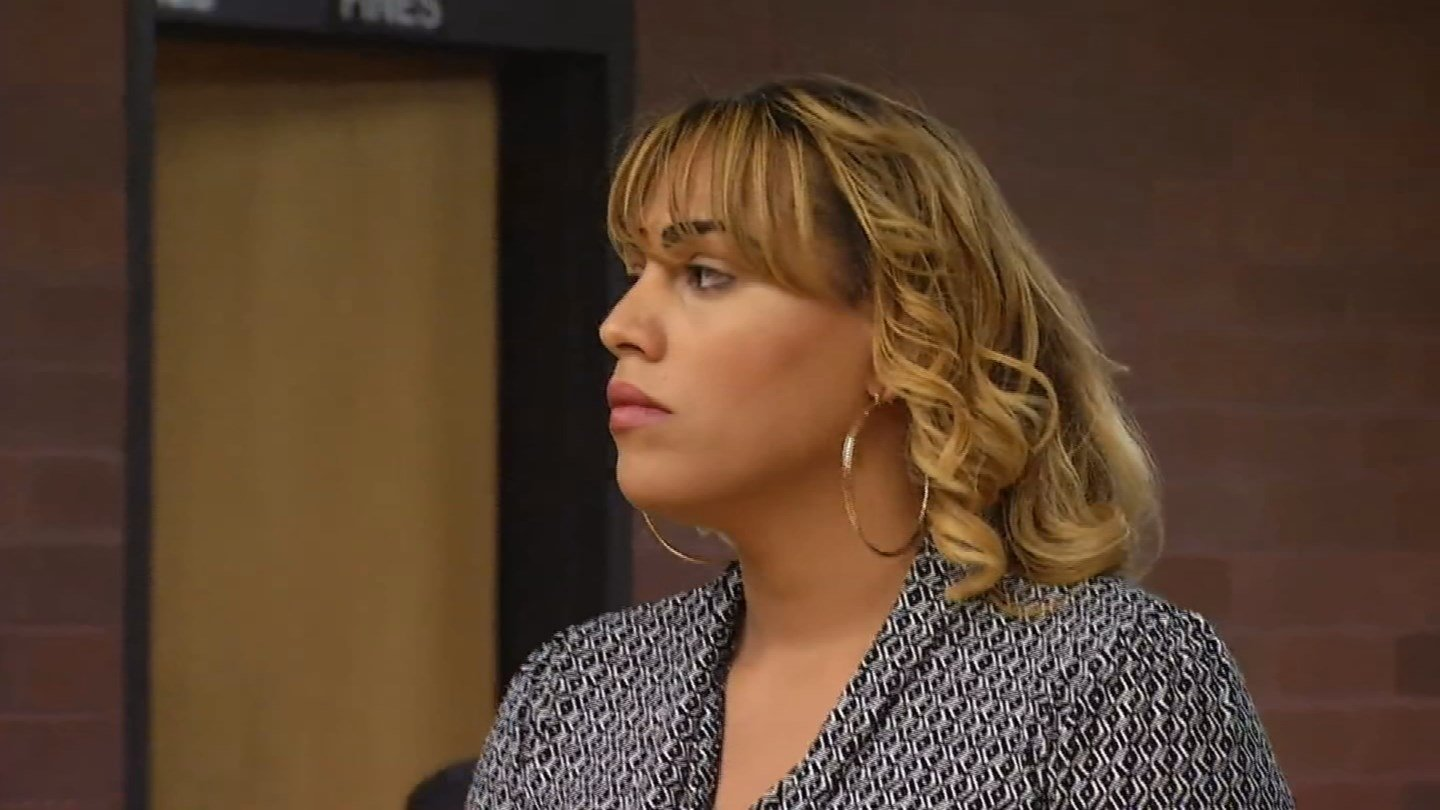 Chasity Marquez faced a judge on Friday. (WFSB photo)