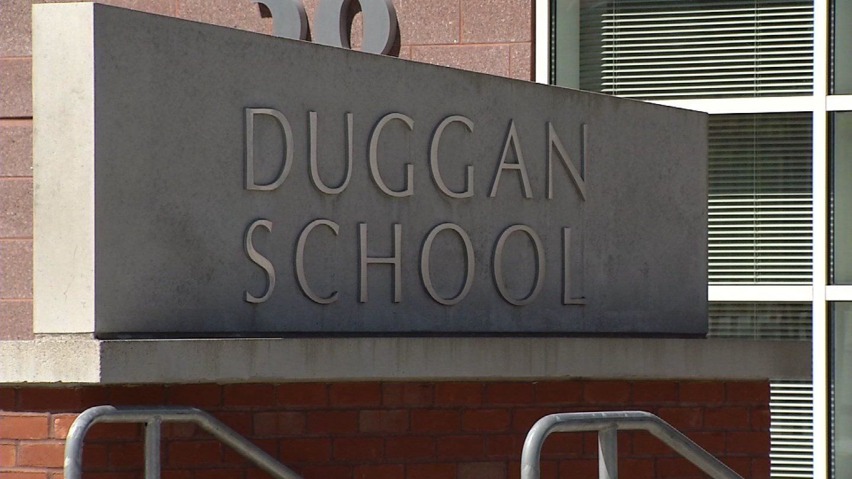 A threat was reported near Duggan Elementary School. (WFSB)