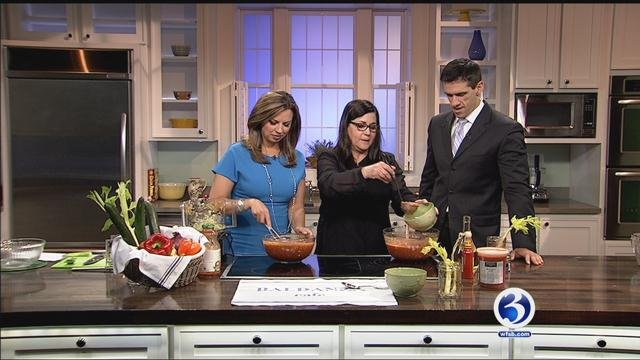 Baldanza Cafe shared delicious gazpacho recipe. (WFSB)