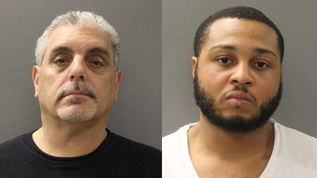 Edward Cavallaro and Mark Davis. (Hamden police photos)