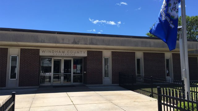 Judicial District Courthouse in Willimantic is one of the branches expected to close due to budget cuts. (WFSB)