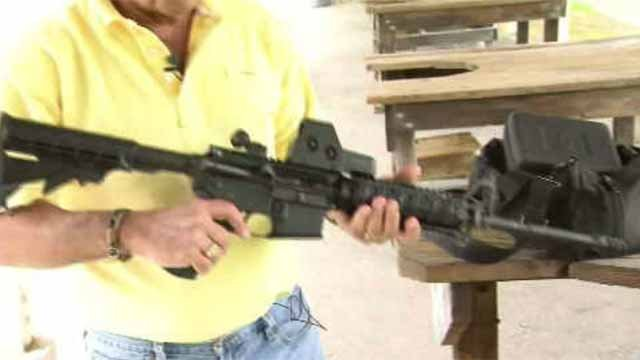 Lawmakers are calling for a universal ban on certain assault weapons. (WFSB)
