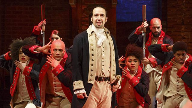 Lin-Manuel Miranda in Hamilton. (wesleyan.edu photo)