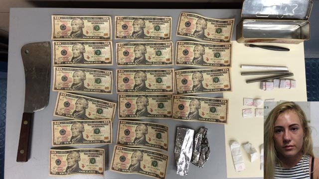 WillowMartin was arrested for trying to pay toll with counterfeit money. (Police photo)