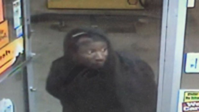 The New Haven Police Department released this photo of the alleged suspect in Shell Gas Station robbery.