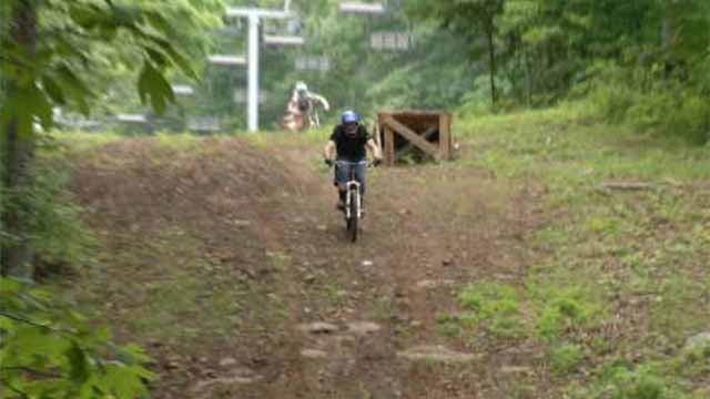 Powder Ridge opens up mountain biking trails (WFSB)