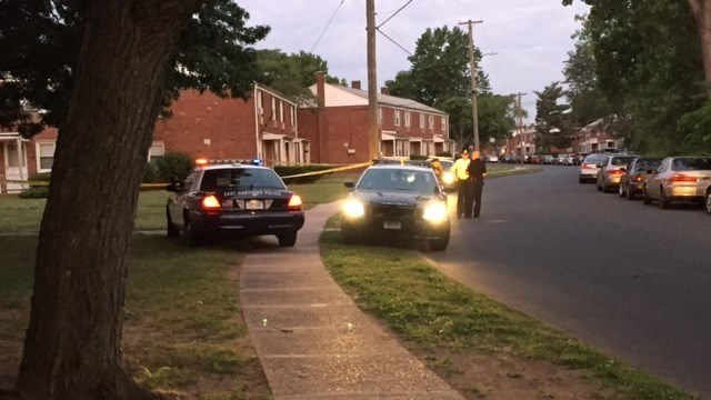 Police investigated a shooting early Friday morning in East Hartford. (WFSB photo)