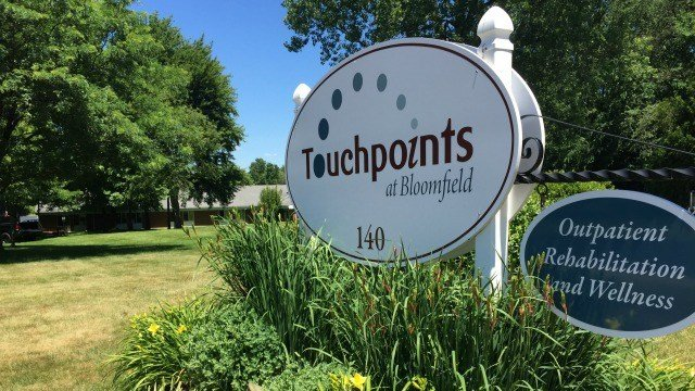 A fire was set by a patient at Touchpoints' Bloomfield facility. (WFSB)