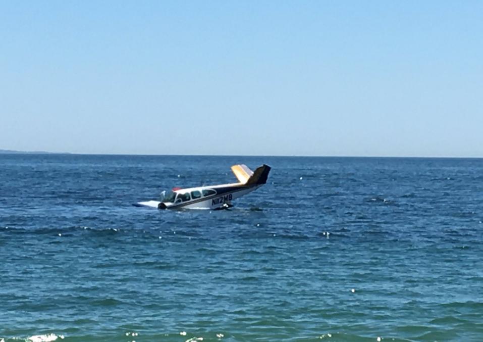 Plane Crashed in LI Sound