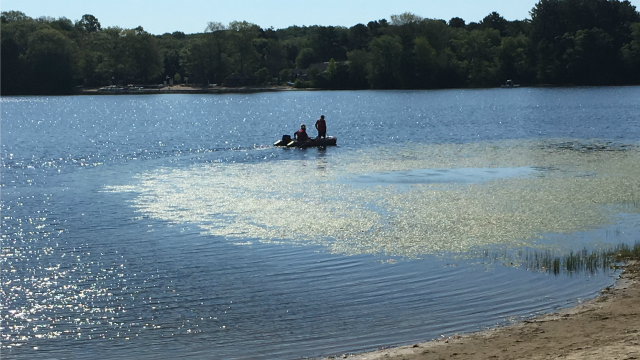 A recovery effort is underway for a Chester boater. (WFSB)