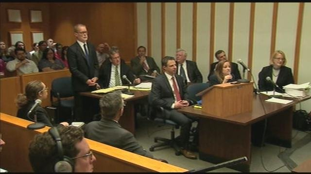 A judge began listening to arguments in the lawsuit around 9:45 a.m. on Monday. (WFSB photo)