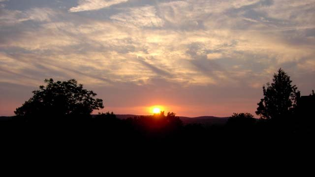 Jim from Durham captured this sunset on Monday evening. (Jim from Durham)