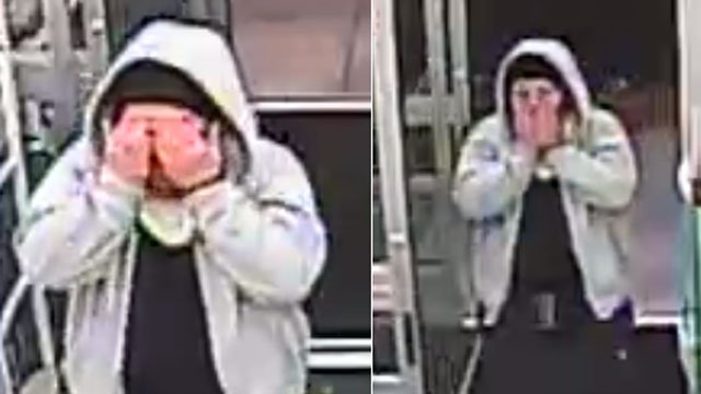 The Wallingford Police Department released this photo of the robbery suspect.