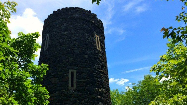 Tower atop Mt. Tom State Park