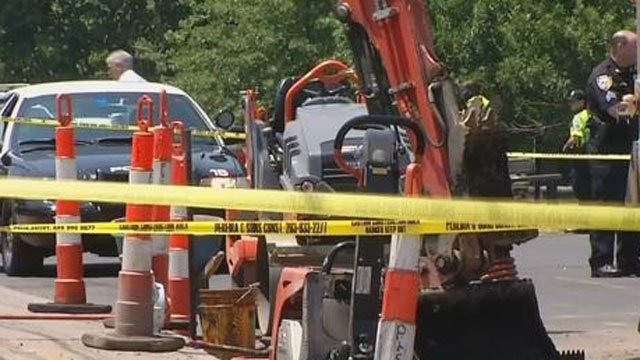 A construction worker died after an incident at site in New Haven. (WFSB)