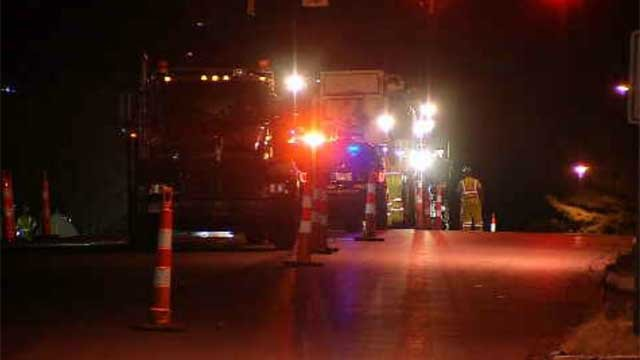 The paving is happening through Friday on Route 372 between the hours of 6:30 p.m. and 5 a.m. (WFSB)