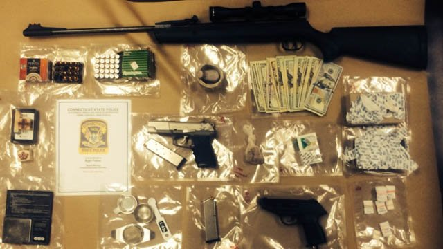 Evidence seized by detectives. (State police photo)