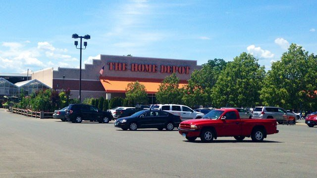 Home Depot in West Hartford. (WFSB photo)