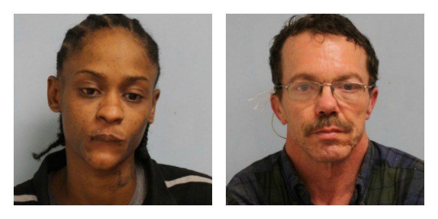 Kiara Wilson and Daniel Henderson were arrested for robbery at Dunkin Dounts. (Willimantic Police Department)