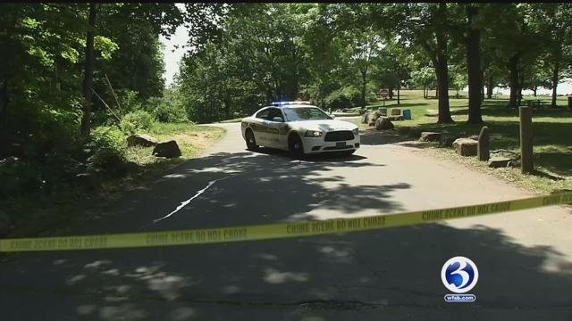 Police investigate sexual assault at New Haven's East Rock Park. (WFSB)