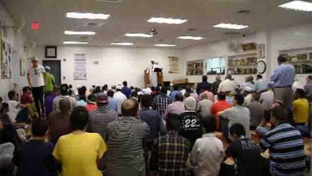 Members of the Muslim community in Waterbury say they are being threatened. (WFSB)