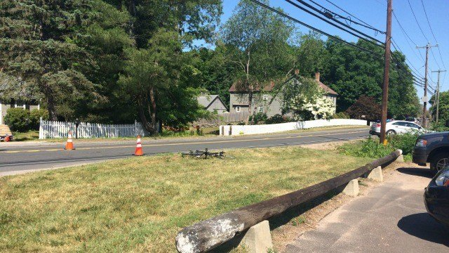 A bicyclist was hit and killed by a car in Haddam. (WFSB)