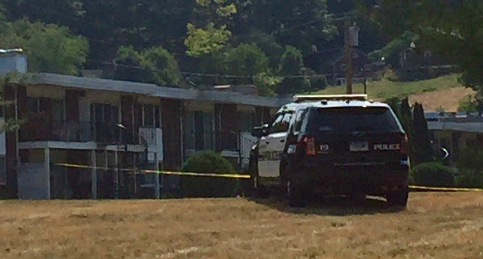 An officer is recovering after being grazed by a bullet in the leg during a standoff (WFSB).