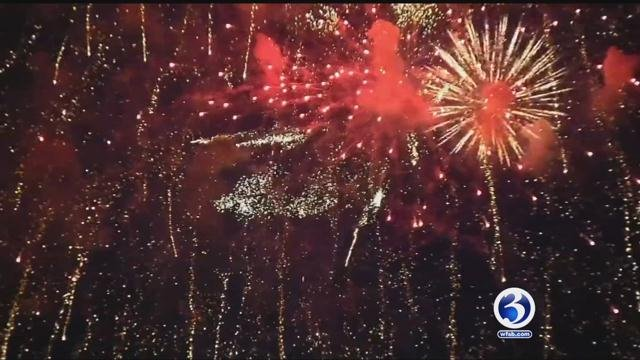 Many communities are struggling to afford holiday fireworks displays. (WFSB)