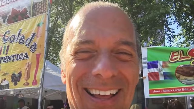 Gary Craig posts video about Latino Fest in Hartford. (YouTube)