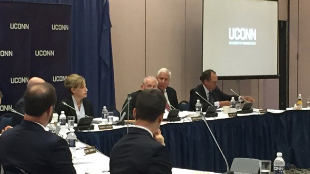 UConn's Board of Trustees voted to revoke Bill Cosby's honorary degree on Wednesday. (WFSB photo)