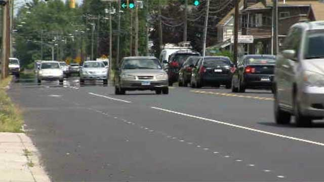 The state's Department of Transportation is looking to make the road safer for drivers and bicyclists. (WFSB)