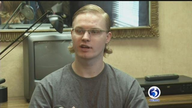 Austin Haughwout and his father have o testify under oath and hand over documents about weaponized drones shown in YouTube videos. (WFSB file photo)