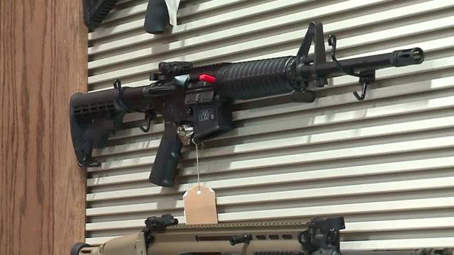Gun shop raffles off assault rifle to benefit Orlando shooting victims. (CNN WIRE)