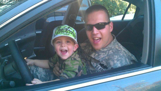 Kyle Schipritt received two purple hearts and runs a business that helps veterans. (WFSB)