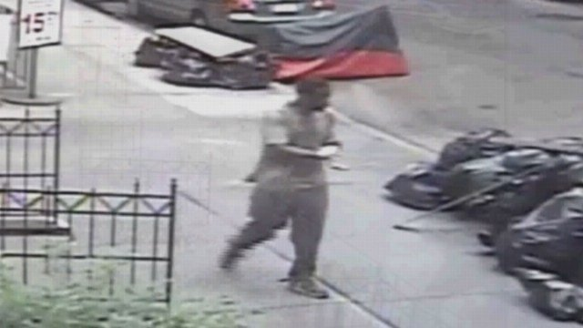 New York City police said they caught the man who stuffed feces down the pants of a woman. (NYPD photo)