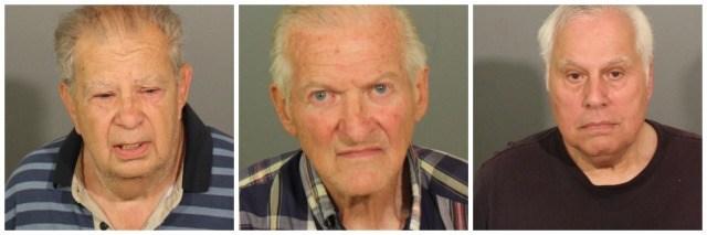 Elderly men arrested for public sexual activity
