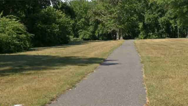 Police say the woman was on a walking on a trail near Arrowwood Drive on Saturday morning when she was approached. (WFSB)