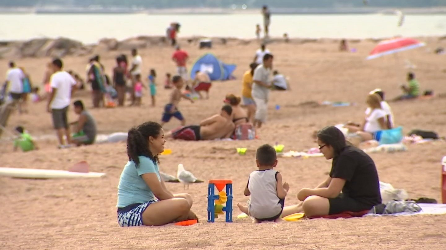 Several state parks reached capacity ahead of the Fourth of July holiday. (WFSB photo)