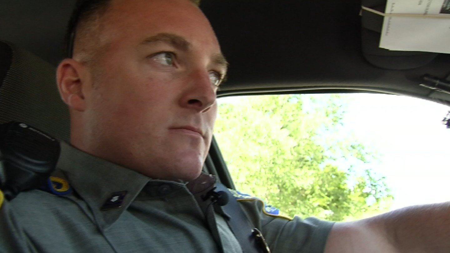 State police took Eyewitness News on a ride along Monday. (WFSB)