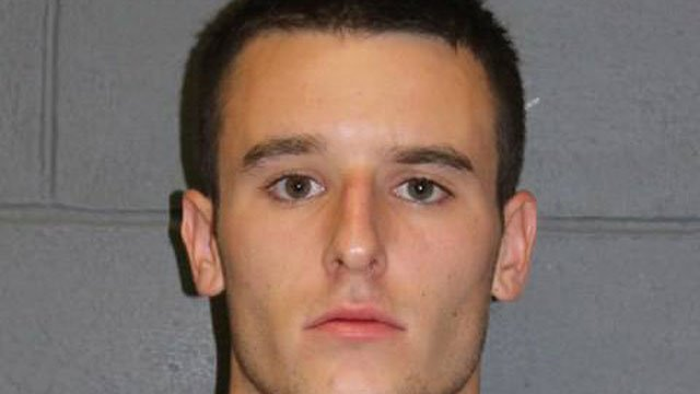 Daniel Brown was charged with threatening. (Southington Police Department)