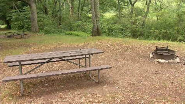 Devil's Hopyard is one of the campgrounds now closed for the season. (WFSB)