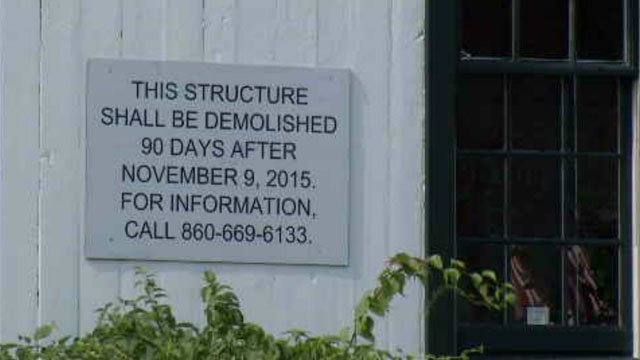Clinton residents are voicing their concerns over the demolition of historical buildings for a proposed CVS. (WFSB)